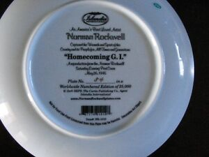 Norman Rockwell Collector Plates London Ontario image 7