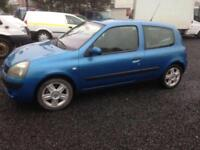 Renault Clio sport LEFT HAND DRIVE