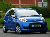 2010 Citroen C1 1.0 Splash 3dr £20 TAX + 1 LADY OWNER +7 SERVICE STAMPS