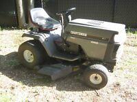 Tracteur Craftsman (15.5 hp / 42) 6 vitesses (En bon état !!!)