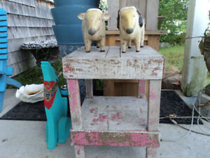Folk Art &/or Shabby Chic=Reduced to $15.00