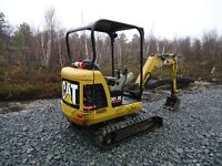 2012 CATERPILLAR 301.8C EXCAVATOR  / CLEAN