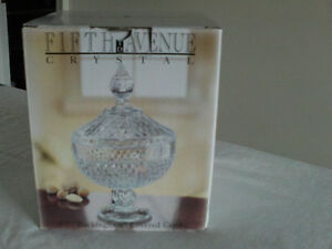 Fifth Avenue- Buckingham crystal candy dish