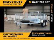 8x5 Tandem galvanised trailer 2000kg 600 cage inc GST Noble Park North Greater Dandenong Preview