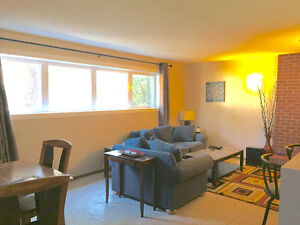 Fully Furnished Two Bed Suite in River Heights