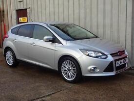 2014(64) Ford Focus 1.6TDCi 115 Zetec 5dr Diesel £20 road tax PCP £160 per month