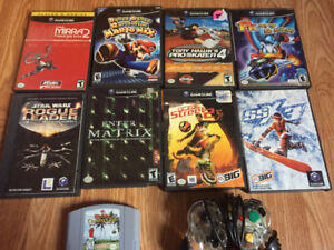 Gamecube/Nintendo 64 games for sale