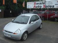2007 57 FORD KA 1.3 STYLE CLOTH 3 DOOR ONLY 38K MILES EXCELLENT CONDITION