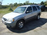 2002 MAZDA TRIBUTE LX 4WD $3000 TAX'S IN CHANGED INTO UR NAME