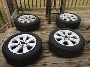 Michelin tires with rims for sale