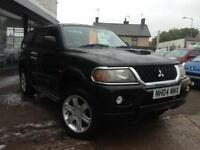 2004 (04) Mitsubishi Shogun Sport 2.5TD Warrior (Finance Available)