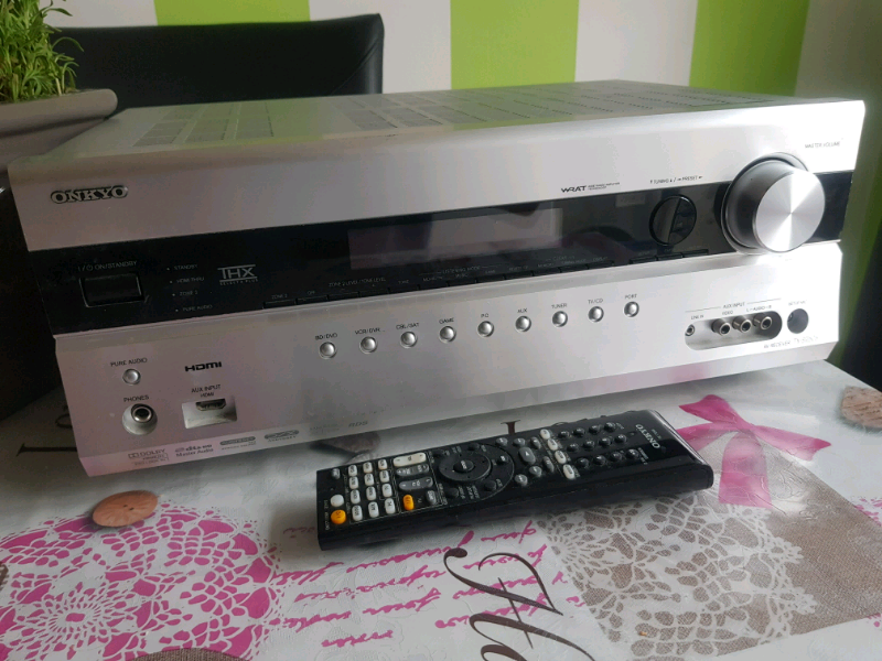 Onkyo TX-SR608 7 2 Home Cinema Theatre 3D AV Network HD Receiver 7x HD | in  Slough, Berkshire | Gumtree