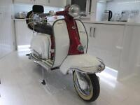 1961 LAMBRETTA L1 125CC SERIES 2 IMMACULATE CONDITION FULLY RESTORED