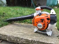 Stihl BG 86 leaf blower, very powerful