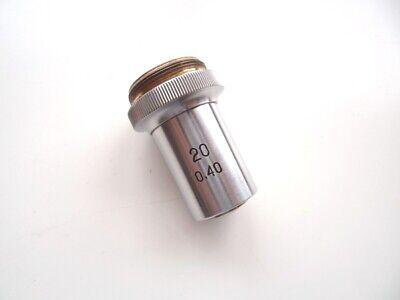 Lens 20x 040 Fa Phase-darkfield Lomo For Microscope