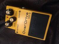Boss od-3 overdrive pedal Boss od3 overdrive pedal