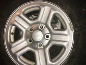 Jeep Wrangler Tires with Rims