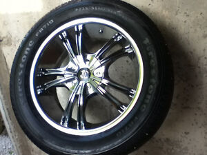 DC custom wheels with rubber