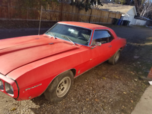 1969 PONTIAC FIREBIRD... Excellent Restoration Project Car