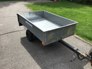 Box trailer for sale all steel 6x4 tilt feature