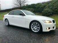2009 BMW 320d Coupe M-Sport Highline Full Red Leather