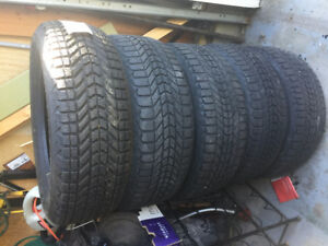 Winterforce M & S tires set of 4