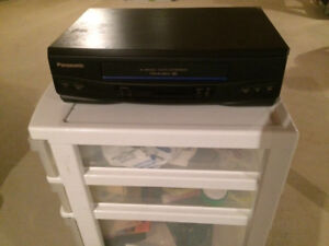 Panasonic Video Cassette Player with Remote