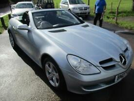 2007 MERCEDES SLK SLK280 MANUAL 3.0 231 BHP CONVERTIBLE PETROL