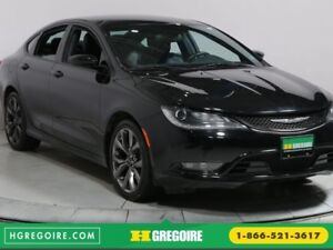2015 Chrysler 200 S AWD A/C CAM DE RECUL BLUETOOTH MAGS