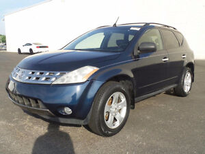 2004 NISSAN MURANO SE , 161K ONLY, AUTO, EXCELLENT / CERTIFIED