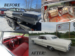 Classic vehicle repairs and restorations (fully licensed)