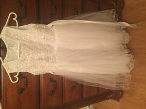 Flower girl dress size 10