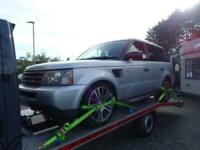 2007 Land Rover Range Rover Sport 2.7 TDV6 S 5dr Auto spares or repairs Estate D