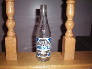 ancienne bouteille de liqueur WHISTLE