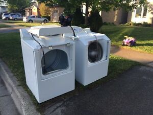 Washer and dryer for scrap
