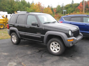 Great Deal - Jeep Liberty Sport 4x4. Trades Welcome.