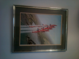 Picture Print of the RED ARROWS 53cm x 43 cm