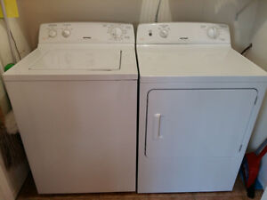 Hot Point washer and dryer