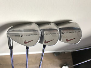 Brand new set of Nike VR X3X Wedges - 52, 56, 60 - LH