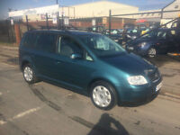 2004/04 Volkswagen Touran 2.0TDI PD (7 Seat) SE 5dr MPV DIESEL 6 Speed NOW £2995