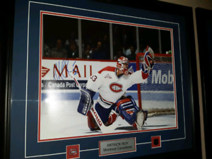 Carey Price and Patrick Roy Autographed pictures