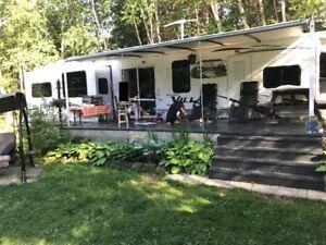 Roulotte de Parc Salem 400RET Camping le Génévrier Baie St-Paul