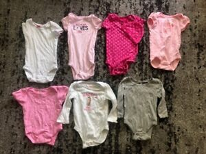 Mix of 6-12 months and 9-12 months girl clothing