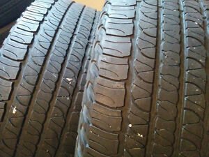 245/60/R18 - Goodyear Fortera HL - two tires for sale - $60 Windsor Region Ontario image 1