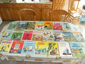 Un lot de 43 bandes dessinées