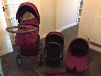 Stokke Xplory Purple V3 Complete Package (including car seat)