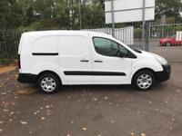 Peugeot Partner L2 715 S 1.6 92PS CREW VAN EURO 5 DIESEL MANUAL WHITE (2015)