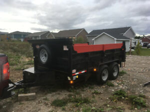 2017 DUMP TRAILER 7x12 --10,000 lb