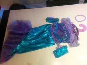 Mermaid costume size 5-6 Gatineau Ottawa / Gatineau Area image 1