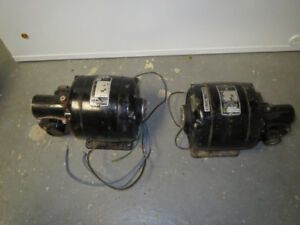 electric motors with gear box